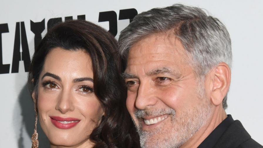 Джордж и Амал Клуни - 17 години