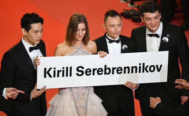 Празен стол за Кирил Серебренников и 6 минути аплодисменти за Уес Андерсън в Кан