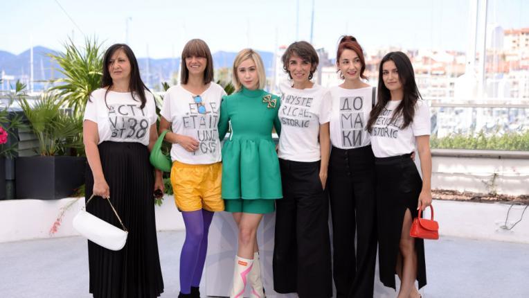 """Мария Бакалова на премиерата на """"Жените също плачат"""" в Кан"""