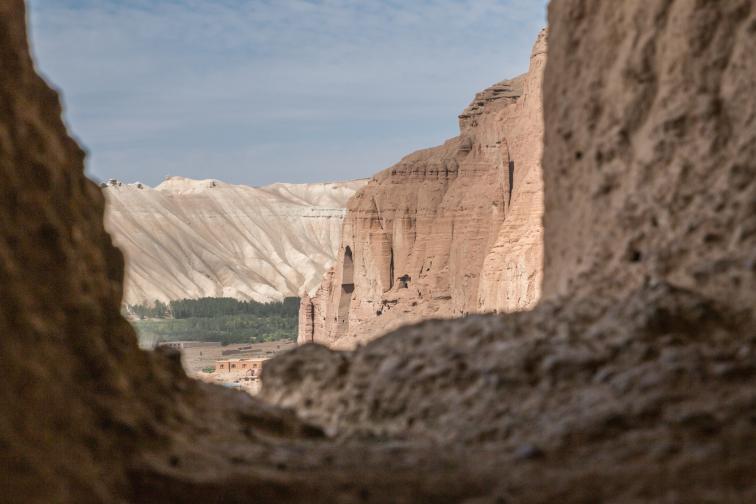 Руините от мястото където преди 20 години са били древните