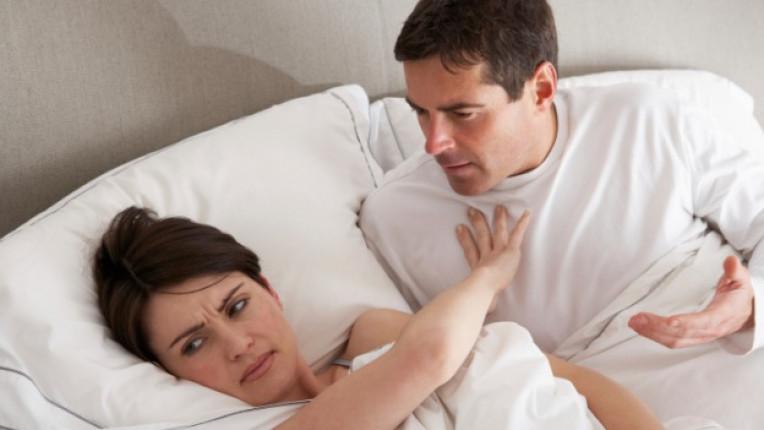 секс мъж жена легло ласки либидо