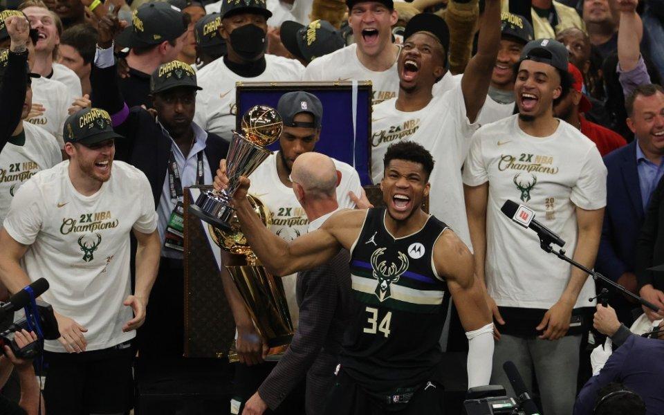 Милуоки стана шампион в националната баскетболна асоциация. Отборът на Бъкс