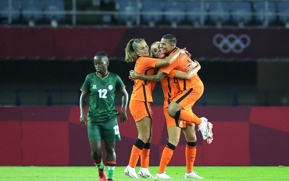 Българка се разписа за Нидерландия на Олимпиадата