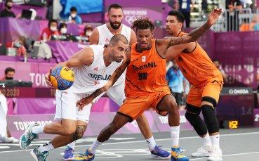 Сърбия започна с две победи в баскетбола 3х3 при мъжете в Токио