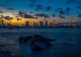 Силен тайфун спря състезания на Токио 2020