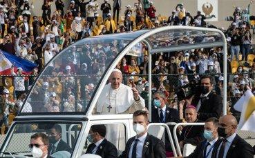 Папа Франциск: Тези Игри изпращат сигнал за надежда
