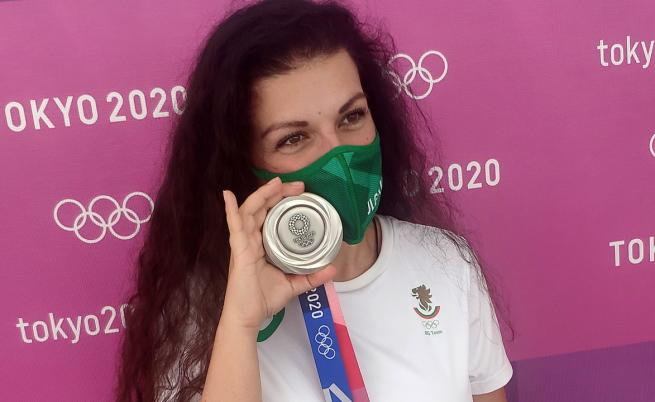 Антоанета Костадинова: Важното е, че взимам медал от такъв форум