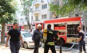 Голям пожар в София, евакуираха хора в жилищна сграда