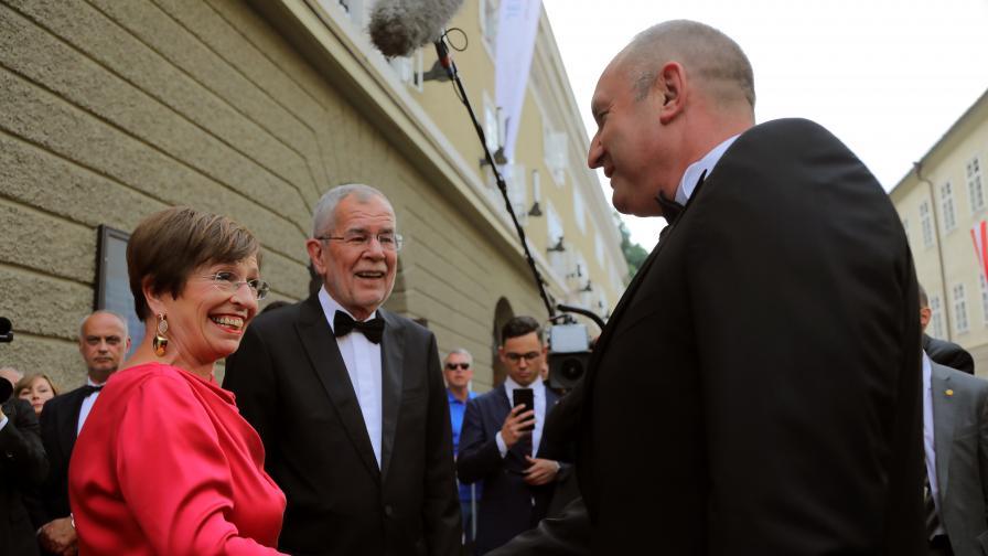 Официална визита в Австрия на държавния...