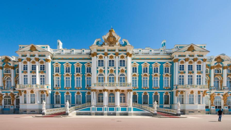 царски дворец Санкт Петербург