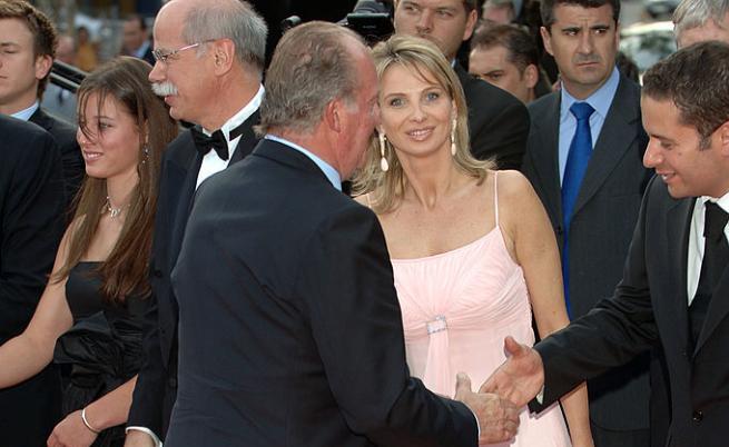 Хуан Карлос и Корина Ларсен