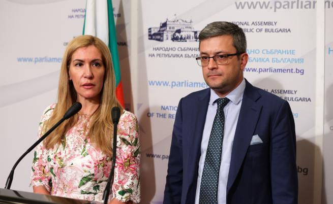 Тома Биков и Николина Ангелкова