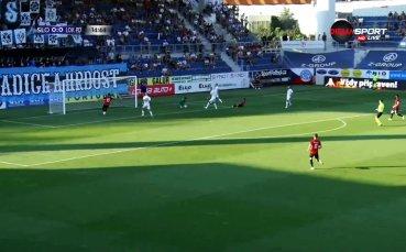 Словачко - Локомотив Пд 1:0 /първо полувреме/