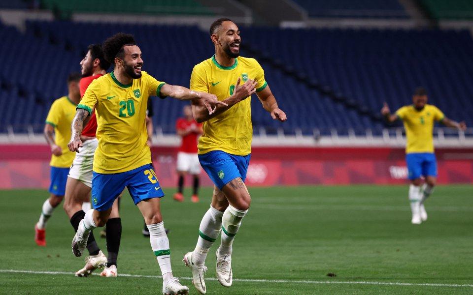 Бразилия продължава към полуфиналите, след като елиминира Египет с минималното