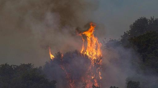 Огнен ад в Гърция, евакуираха българи