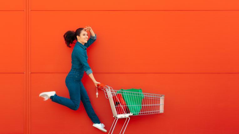 Неочакваните удоволствия: да пазаруваш в супермаркета сама