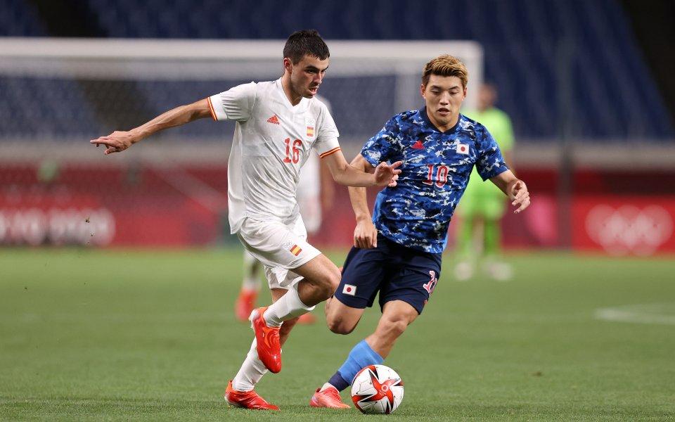 Япония и Испания играят при 0:0 във втори полуфинал от