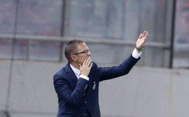 Дамбраускас: Контролирахме мача, но сме леко разочаровани, че не бихме