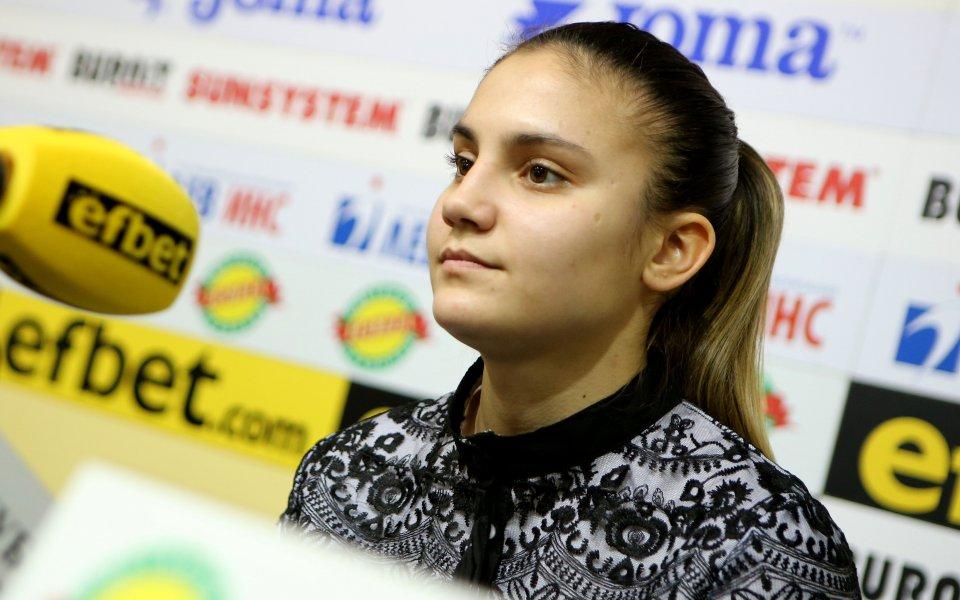 Българката Ивет Горанова започна по прекрасен начин участието си на