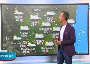 Прогноза за времето (05.08.2021 - централна емисия)