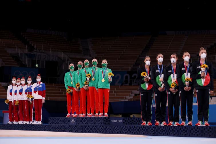 Ансамбълът по художествена гимнастика донесе трето злато за България от