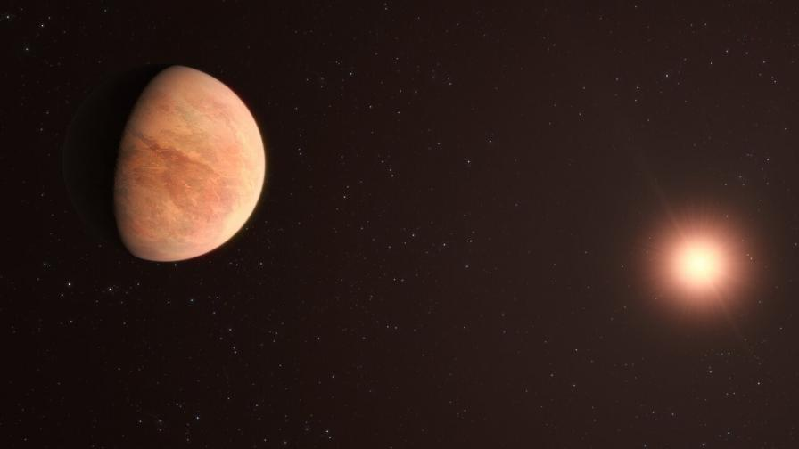 Откриха близка екзопланета, която може да има атмосфера