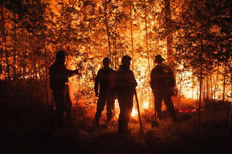 Пожари бушуват в Сибир
