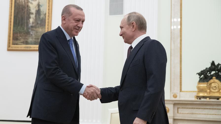 Путин и Ердоган съгласуват действията си за Афганистан