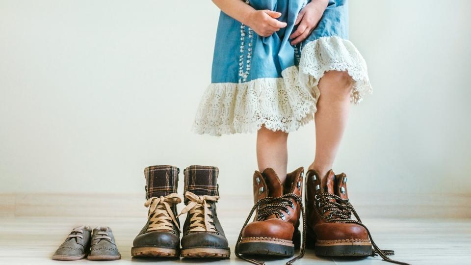 деца обувки