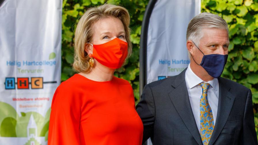 Белгийското кралско семейство е под карантина