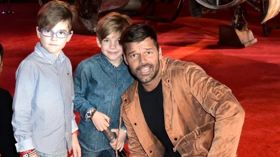 Рики Мартин и синовете му