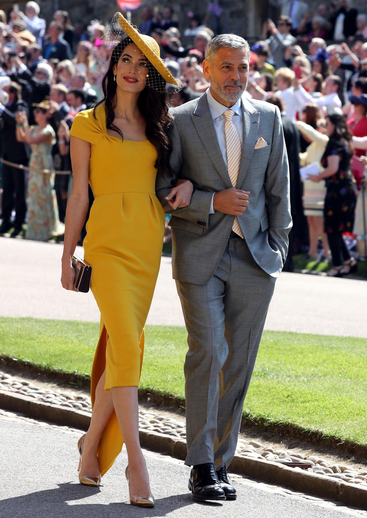 <p>Двамата изглеждаха безупречно по кралски на сватбата на принц Хари и Меган Маркъл.</p>