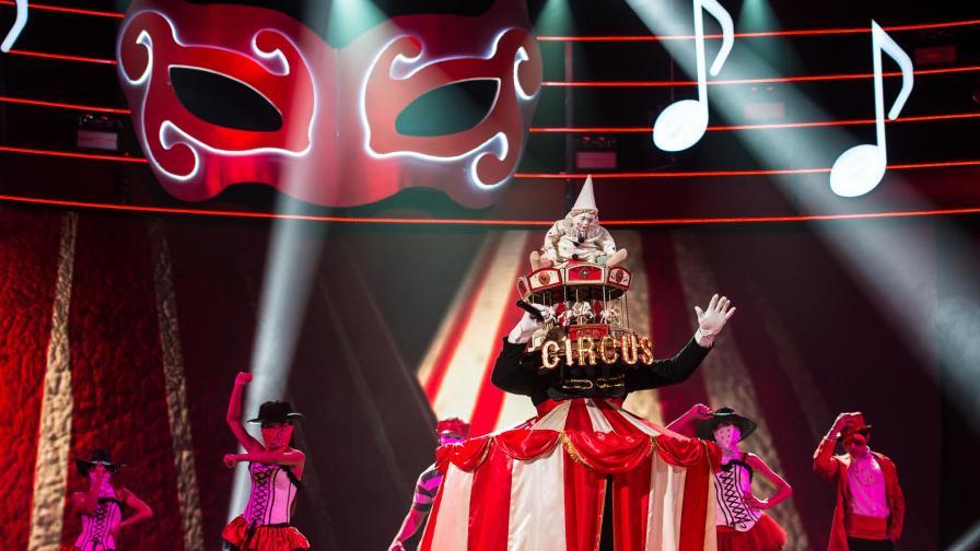 """С грандиозен спектакъл бяха представени новите 14 герои в третия сезон на """"Маскираният певец"""""""