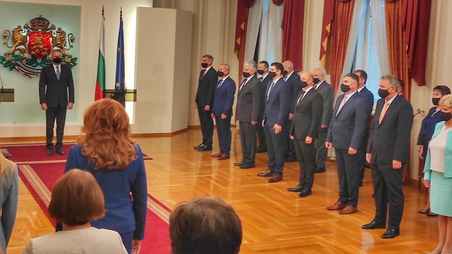 <p>Ето кои са новите служебни министри</p>