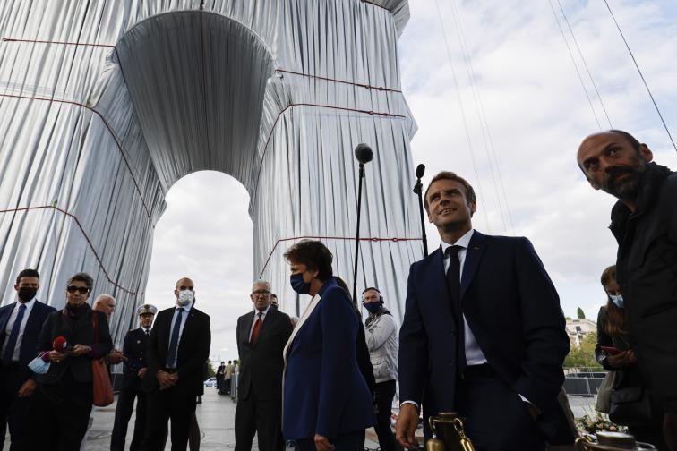 кристо париж арка
