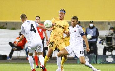 Съперникът на ЦСКА отнесе 6 гола в Украйна