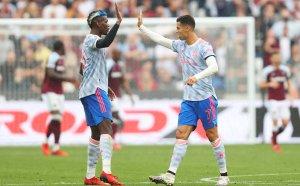 НА ЖИВО: Уест Хем - Манчестър Юнайтед 1:1 до почивката, Роналдо отново вкара