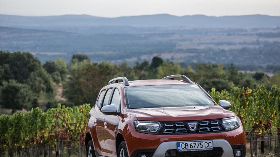 Зад волана на Dacia Duster 2021