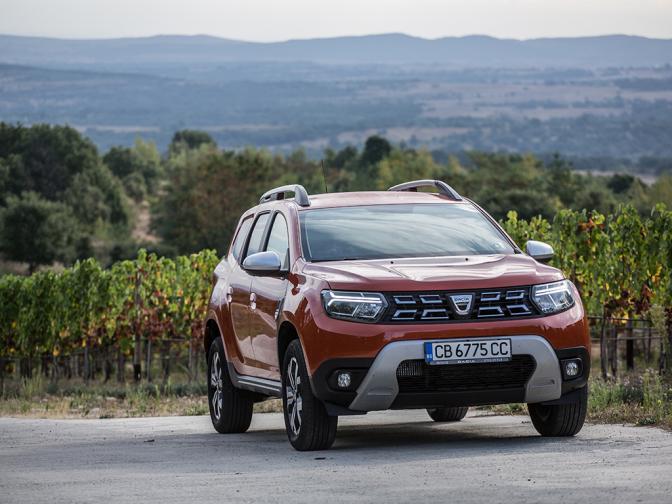 Dacia Duster 2021 галерия