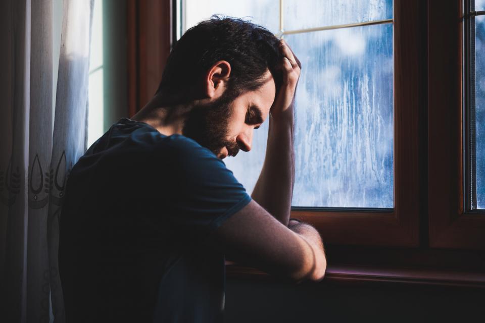 мъж жена тъга депресия