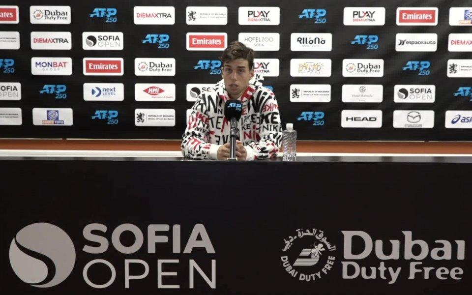 Адриан Андреев обясни, че не е издържал физически в мача