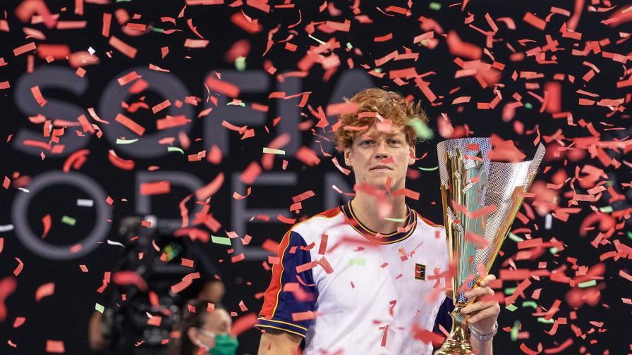 Яник Синер е шампион на Sofia Open 2021