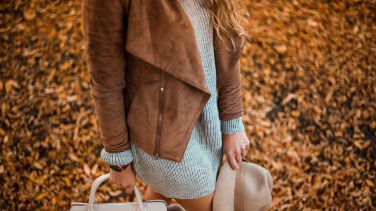 Вълнен пуловер с елегантна пола? О, да!