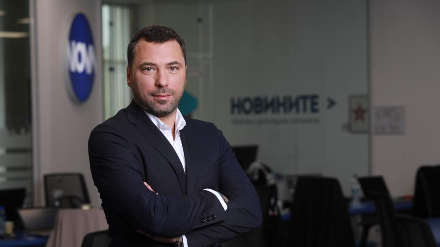 Константин Караджов се присъединява към екипа на Нова Броудкастинг Груп