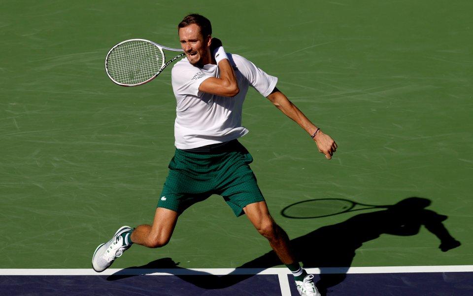 Шампионът на US Open Даниил Медведев се присъедини към победителката