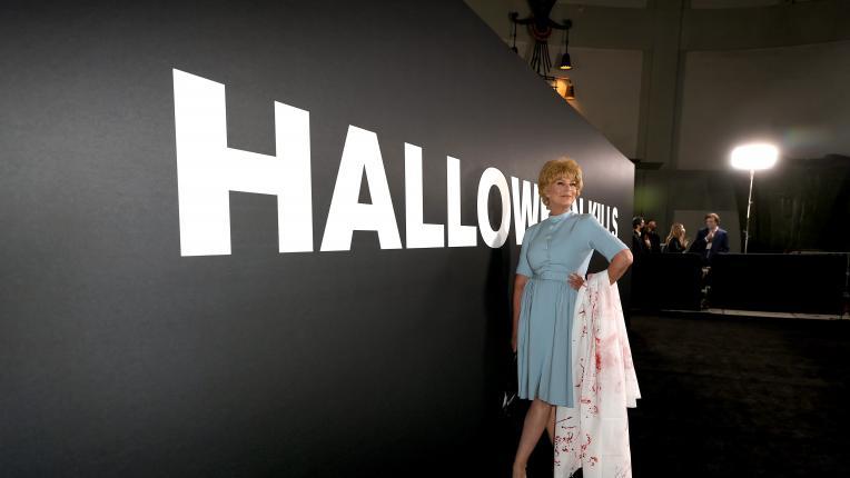 """Джейми Лий Къртис като майка си Джанет Лий в """"Психо"""""""