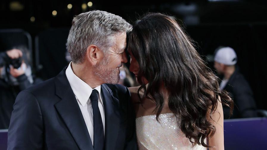 Любов на червения килим: Джордж и Амал Клуни...