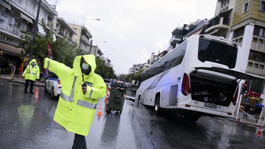 Тежки наводнения в Атина, Гърция