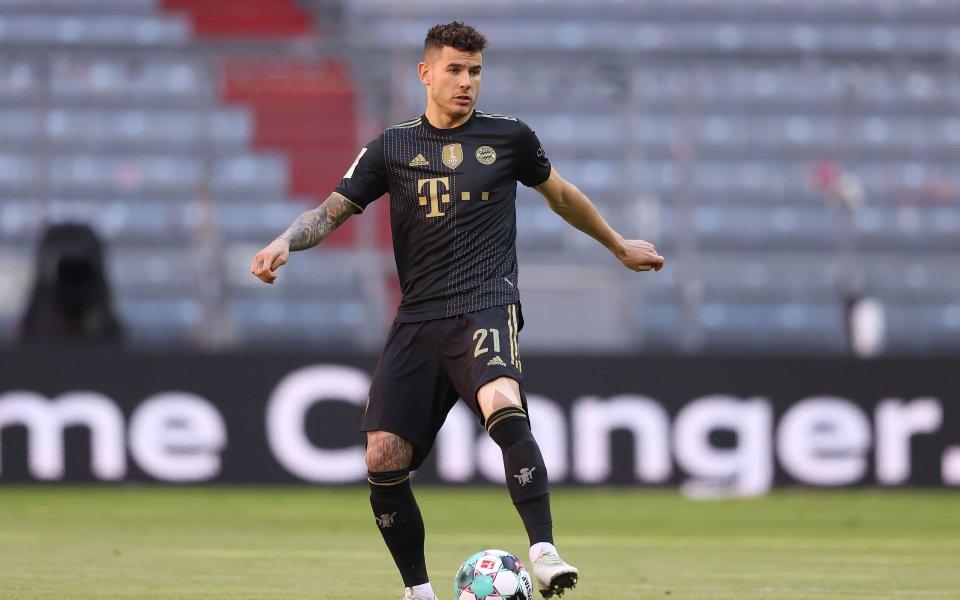 Защитникът на Байерн Мюнхен Люка Ернандес се яви днес в