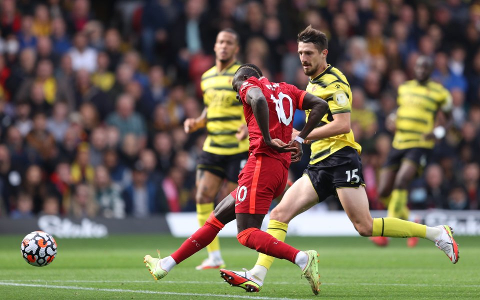 Уотфорд и Ливърпул играят при 0:2 в първимач от 8-ия
